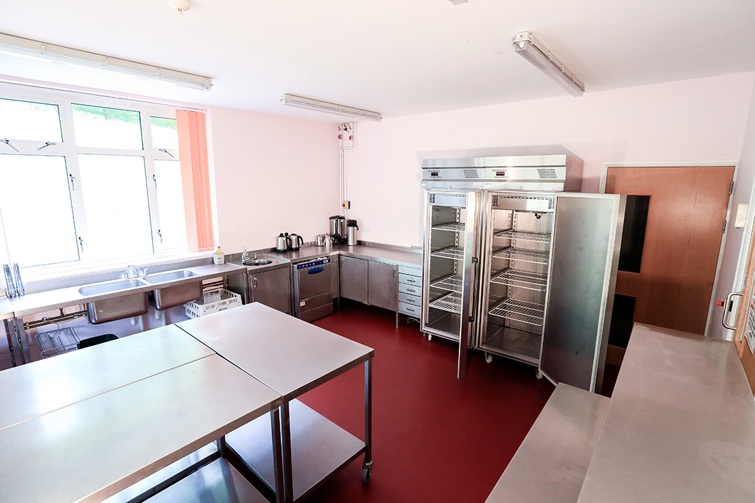 Cook for a celebration in the well equipped kitchen