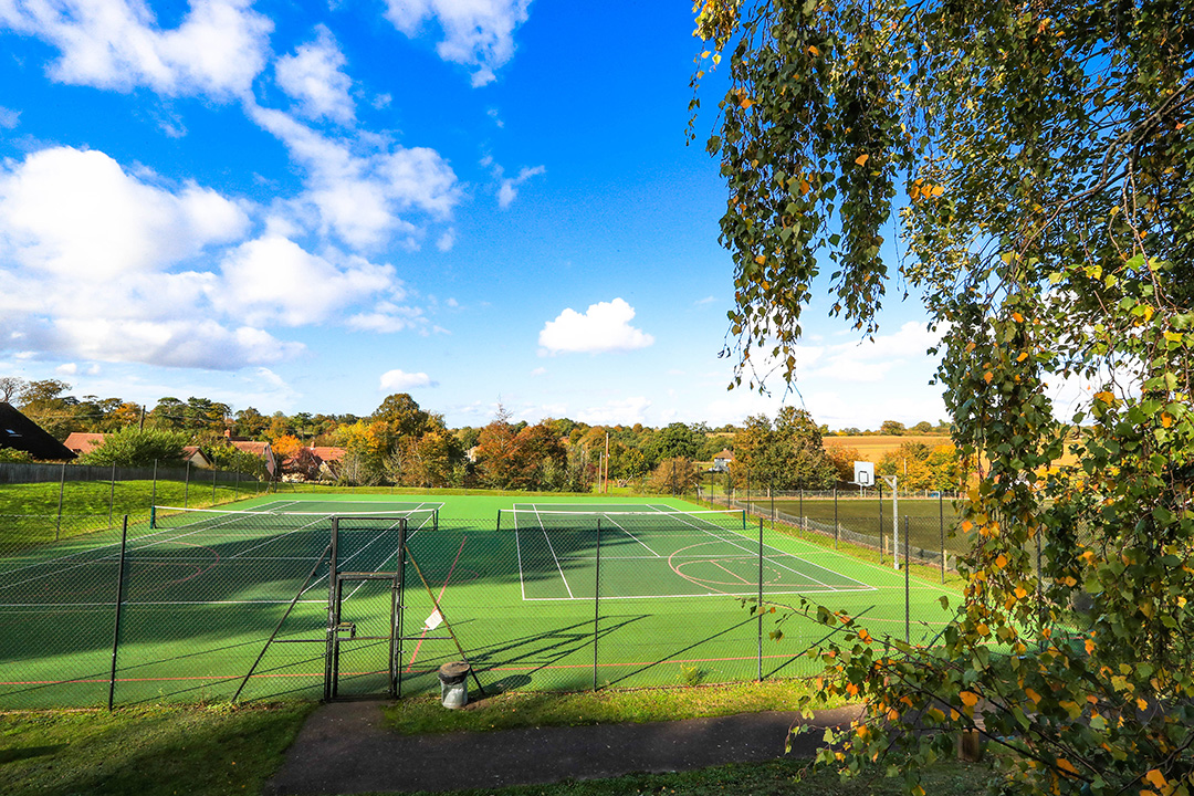 TCC tennis courts