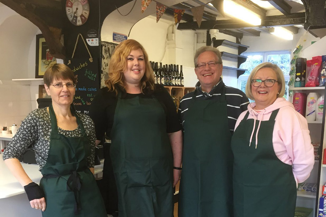 The Coddenham Shop staff close up