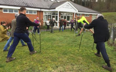 MORE Nordic Walking…. UPDATE!