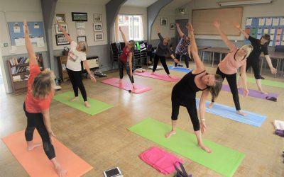 Try Dru Yoga for Free  at The Coddenham Centre Tomorrow