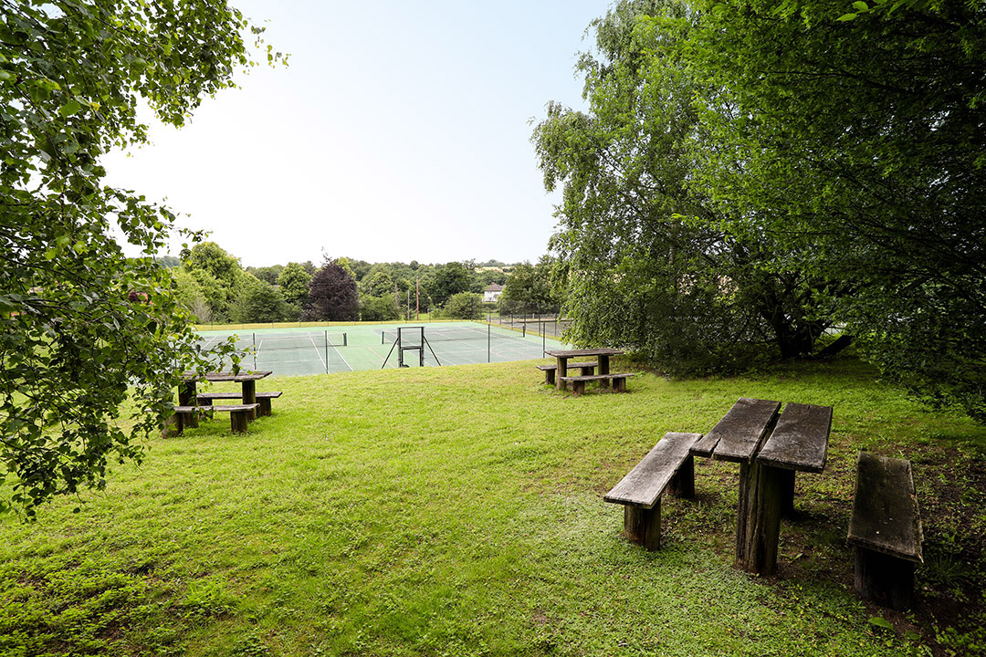 View of The Coddenham Centre picnic and sports area