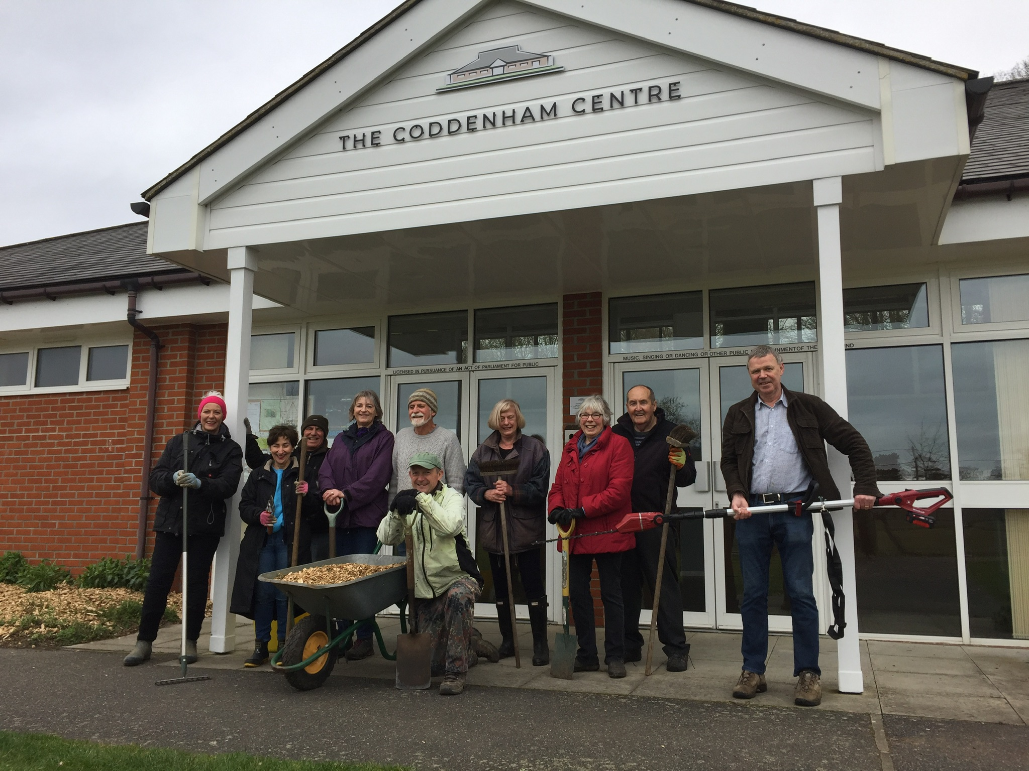Previous Working party at the Coddenham Centre