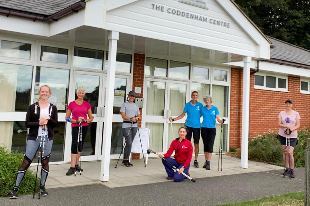 Nordic Walking at The Coddenham Centre
