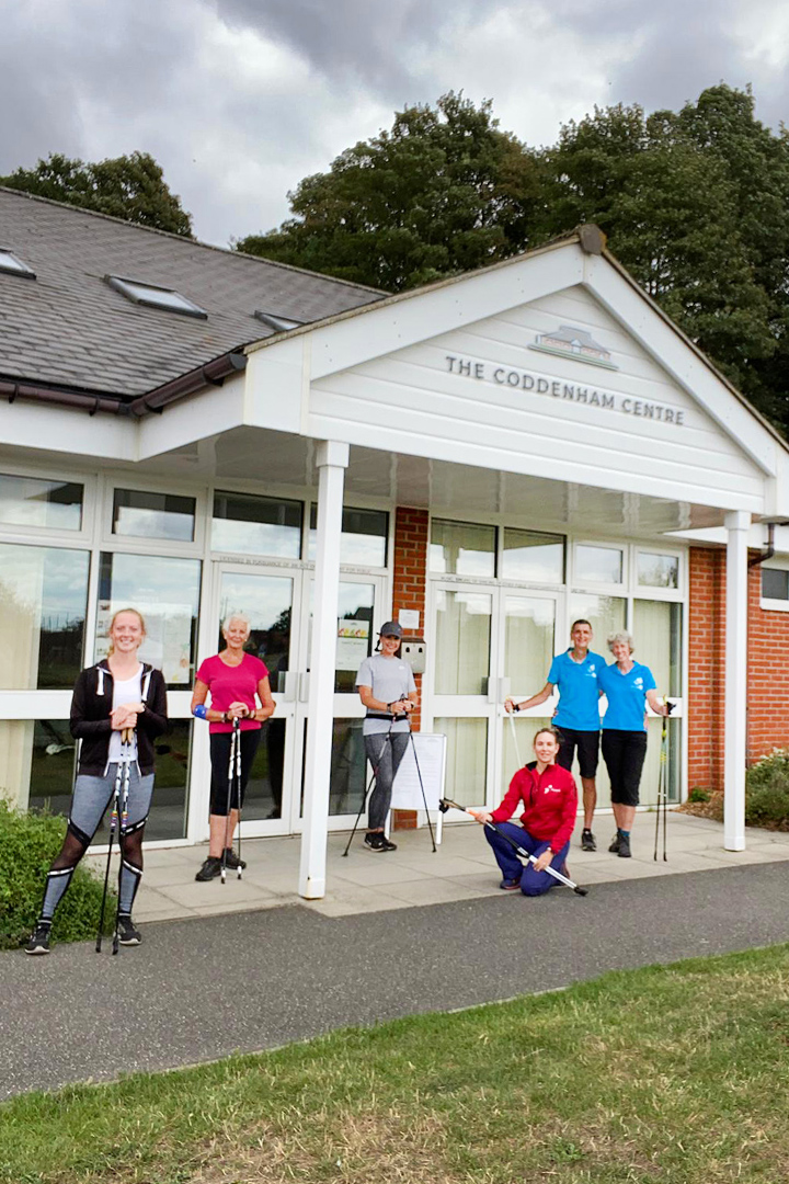 The Coddenham Centre Nordic Walking