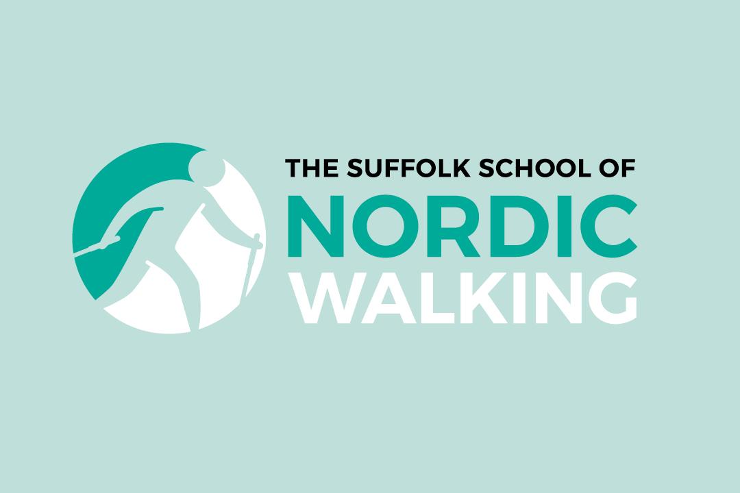The Suffolk School of Nordic Walking Logo