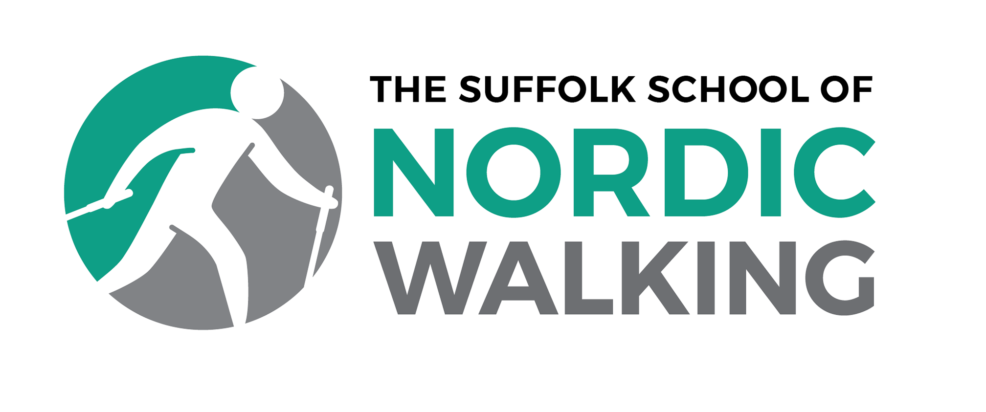 The Suffolk School of Nordic Walking Logo