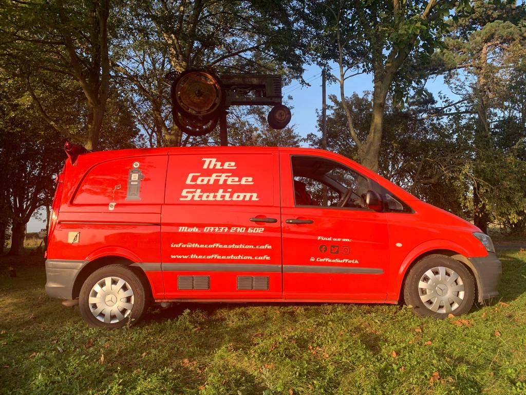 The Coffee Station Van