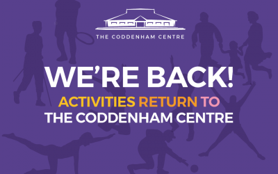 We Are Back – Our New Programme of Activities at your Coddenham Centre