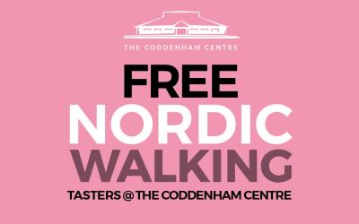 Free Nordic Walking @the Coddenham Centre this weekend!