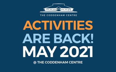 The Coddenham Centre's Report to Coddenham's Annual General Meeting 2021 + In the News