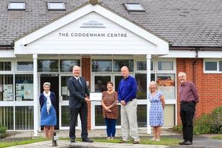 The Coddenham Centre Receives its Suffolk Carbon Charter