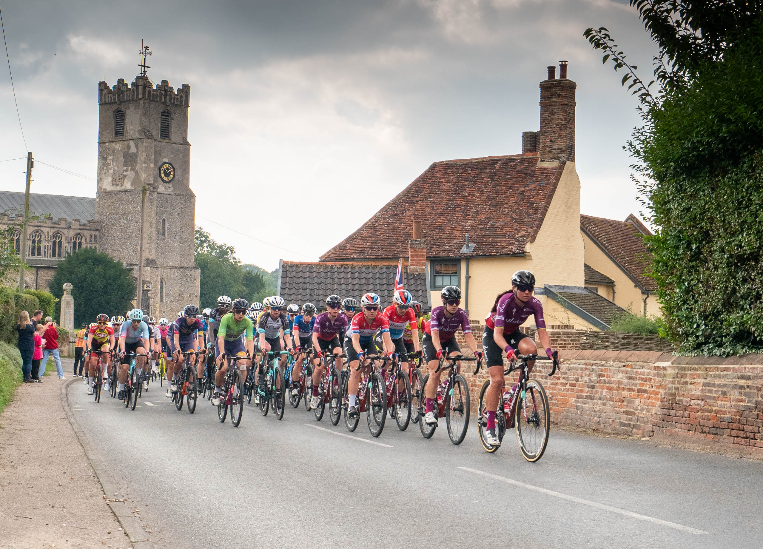 Cyclists in coddenham